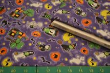 SOUTH SEAS - MIDNIGHT MONSTERS- HOLLOWEEN 38247-687 NEW QUILT COTTON * BY THE YD