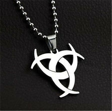 Hot-New 1PC Fashion Men Stainless Silver Superman Superhero Pendant Necklace