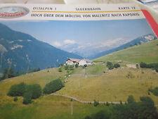 Alpenbahnen Ostalpen 1 K 12 Hoch über dem Mölltal von  Mallnitz nach Kaponig