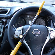 Nissan Qashqai Car Anti Theft High Security Yellow Steering Wheel Lock