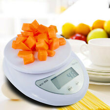 5KG 11LBS Portable LCD Digital Scale Kitchen Electronic Weight Food Diet Bowl