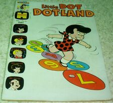 Little Dot Dotland 61, FN+  (6.5) 1973 Scarce Final issue! Richie Rich story!