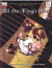 All the King's Men - A Whimsical Murder Mystery for the d20 System
