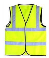Yellow Child Reflective Vest HiVis Viz Children Safety Activity Sport Sz 2-3 New