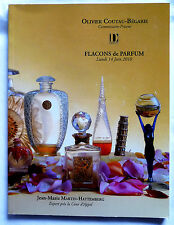 "CATALOGUE DE VENTE ""FLACONS A PARFUM"" 14 JUIN 2010 / COLLECTION"