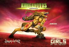 Raging Heroes Kurganova Shock Troops Vankaree WereSheWolf