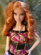 Top Model Summer Barbie Doll 2007 great condition loose model muse sausage curls