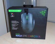 Razer Naga Epic Chroma Multi-Color Wireless MMO Gaming Mouse with 19 Buttons