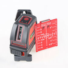 U.S.Solid Self Leveling Horizontal Vertical Cross Line Laser Level Meter Leveler