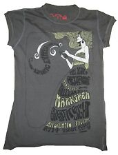Cooles AMPLIFIED EUPHORIC Rock Star Vintage Nähte Aussen Kunst Tatto T-Shirt g.S