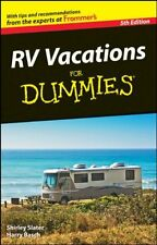 RV Vacations For Dummies by Shirley Slater, (Paperback), For Dummies , New, Free