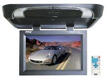 "Pyle 17"" Flip Down Monitor Built DVD/ SD/ USB Player w Wireless FM, IR PLRD175IF"