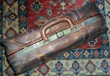 VERY VINTAGE LEATHER SUITCASE