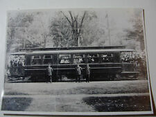 USA809 - CONNECTICUT CO - TROLLEY CAR No500 PHOTO - USA