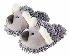 Aroma Home Adult Fuzzy Friends Slippers - Koala Bear