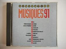 GENERATION MUSIQUE 91 : MADER, RIVIERE, ELMER FOOD BEAT  | CD Album RTL Port 0€