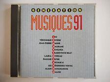 GENERATION MUSIQUE 91 : MADER, RIVIERE, ELMER FOOD BEAT  | CD Album RTL Port 0€
