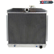 3ROW ALUMINUM Radiator Fit For 1955-1957 Chevrolet Bel-Air Nomad 210 150 V8 1956