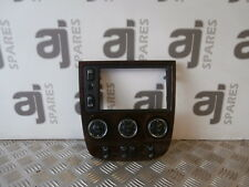 MERCEDES ML 270 CDI 2002 HEATER CONTROL SWITCHES AND SURROUND A163 820 49 89 KZ