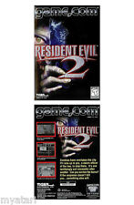 Resident Evil 2 NEW SEALED!  GAME.COM/Tiger