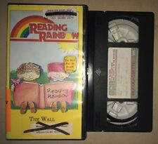 Reading Rainbow - The Wall Episode 82 (VHS) RARE