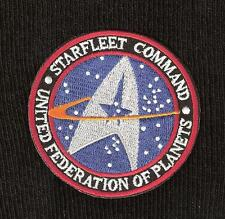 STAR TREK ☆ STAR FLEET COMMAND SCI-FI MOVIE TV SPACE Iron On Patch Badge☆ 3INCH