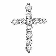 925 Sterling Silver Cross Pendant with AAA Of Cubic Zirconia Hand Set Fashion