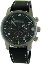 Thunderbirds AUTOMATIC 25 Jewels Flieger Herrenuhr day date month 24h pilotwatch