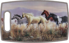 RIVERS EDGE - Antibacterial CUTTING BOARD - HORSE - KEEPS KNIVES SHARP - NEW