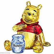 Swarovski Disney Winnie The Pooh Bear Crystal Figurine Authentic MIB - 1142889