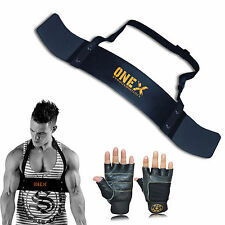 One Fitness Bicep Isolator Arms Blaster Bomber Training Weight Lifting Gym Glove