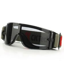 High grade dark green ink sheet wind and dust anti-fog goggles riding glasses