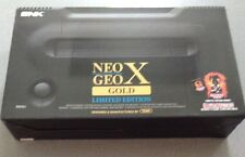 SNK Playmore Neo Geo X Gold Limited Edition Console with Loaded Games   NEW