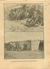 WWI Bunker blockhaus Casemate Ypres Bataille des Flandres War 1917 ILLUSTRATION