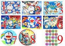 Cialda - Ostia per torte Doraemon Anche tonda e personalizzabile Anche A3