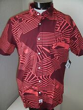 VOLCOM Large L Button-up shirt NWT NEW Skateboard skate