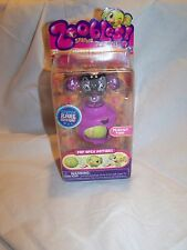NEW Zoobles Peanut #205 Zooper Rare Edition Spring to Life 2010 Spin Master