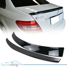 Painted Mercedes Benz W204 OE Rear Roof + D Type Boot Trunk Spoiler C240 C32 ◎