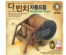 ACADEMY Leonardo Da Vinci Machines Series Mechanical Drum Model KIT #18138a