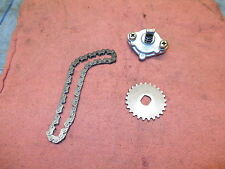 2006 Canam Can Am DS 250 DS250 Engine Oil Pump & Chain & Gear OEM NICE