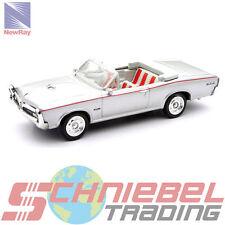 1966 Pontiac GTO [NewRay 48044B] Silber, 1:43 Die Cast