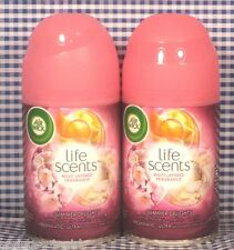 2 Air Wick Freshmatic Ultra Life Scents SUMMER DELIGHTS Automatic Spray Refill