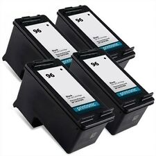 4PK HP 96 Ink Cartridge C8767WN for DesignJet 5940 OfficeJet 7210 7310 7410