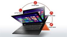 "ORANGE Lenovo Yoga 2 Pro i7-4510U 256GB 8GB 13.3"" IPS Touchscreen Tablet Laptop"