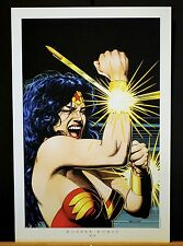 Wonder Woman Fine Art Print by Brian Bolland   Bullets & Bracelets  New