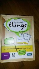 The game of things  Adult Hasbro games 4+ players