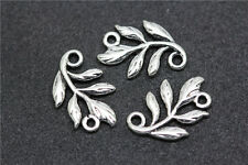 Free shipping lots 100pcs tibet silver exquisite branch charm Connectors 14mm