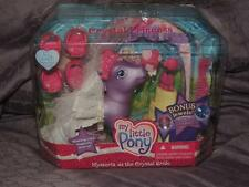 MY LITTLE PONY WYSTERIA CRYSTAL PRINCESS BRIDE POP UP WEDDING CAKE BONUS JEWELS