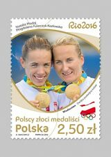 Pologne 2016 stamp polish gold medal winners-rowing (2016; nr cat.: 4738)