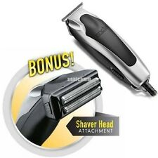 ANDIS SUPERLINER TRIMMER W/SHAVER HEAD 04890 Outlining Detailing Shaving Shaping